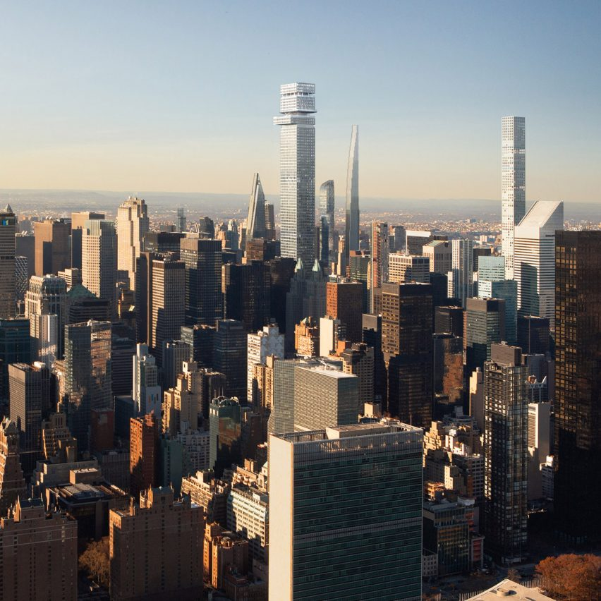 New York Manhatten: 3Novices:Tower Fifth Supertall Skyscraper Proposed For
