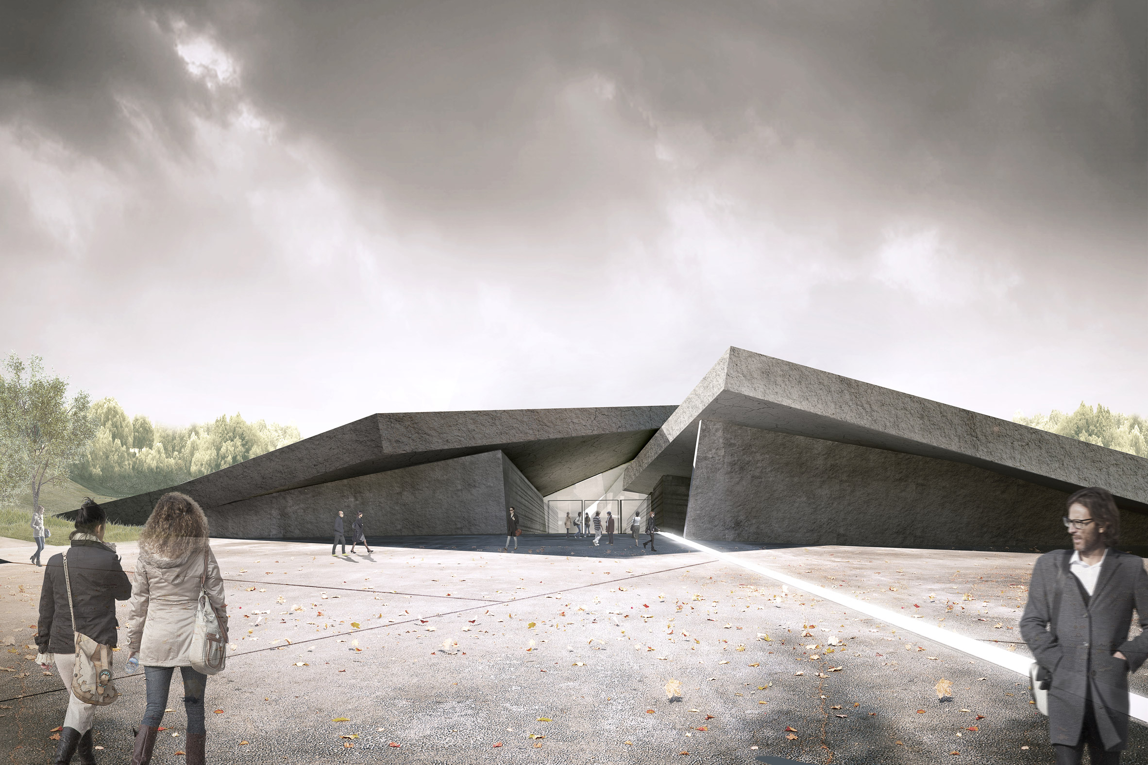 The Museum of the Great Famine by Nizio Design International and Project Systems LTD in Kiev, Ukraine