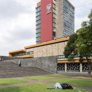 The Central University City Campus on UNAM photographed by Jazzy Li