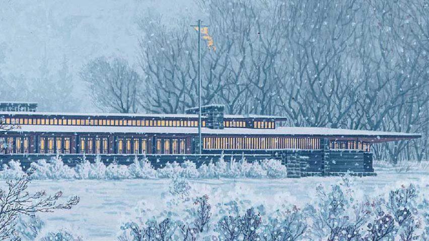 Frank Lloyd Wright's Banff Pavilion
