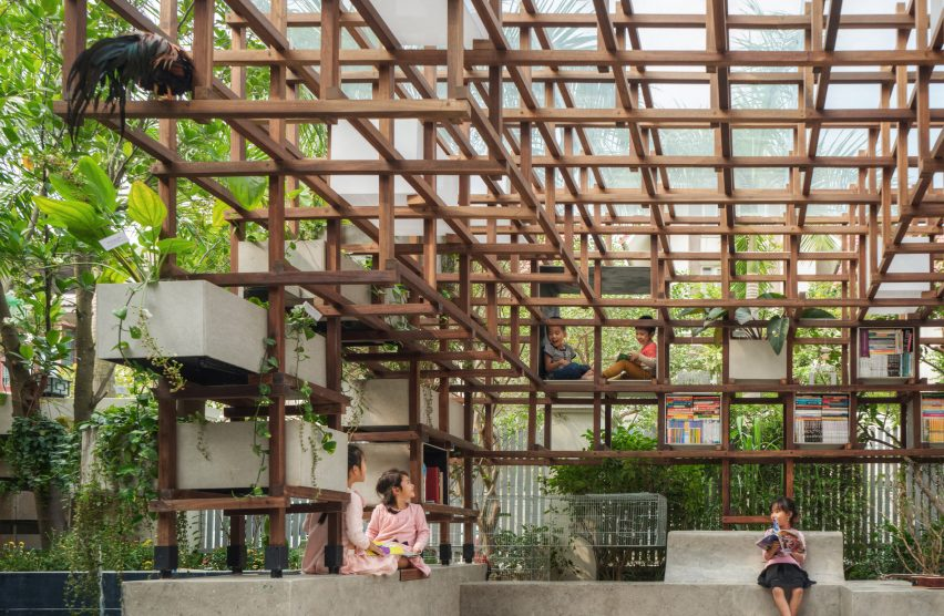 VAC Library by Farming Architects