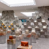 Milanese palazzos inform Valextra's Miami store by Aranda\Lasch