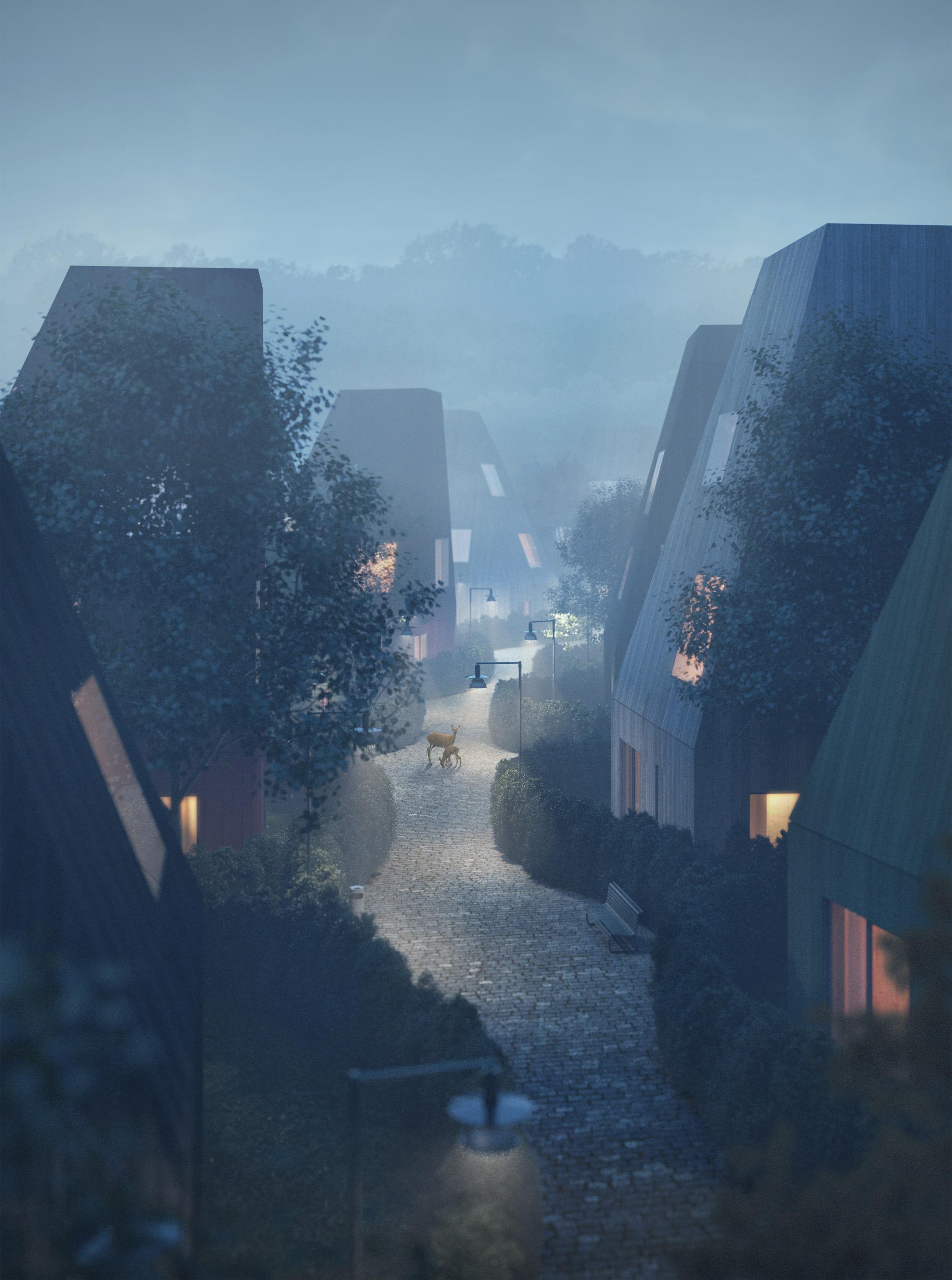Vertical Village II by Tham & Videgård Arkitekter