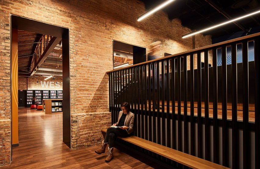 West Loop Branch Library by SOM