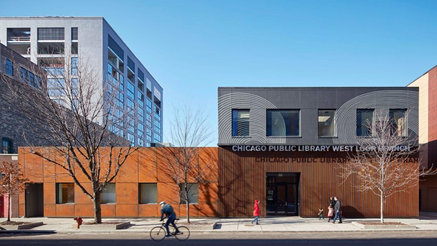 SOM transforms ageing brick buildings into Chicago's West Loop Branch  library
