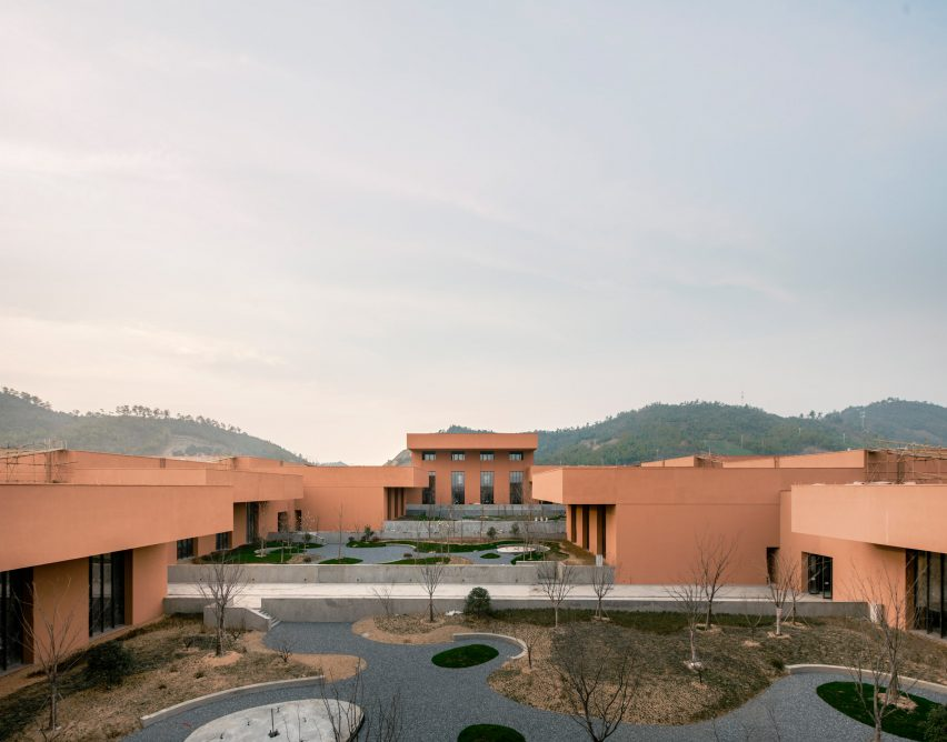 Zhejiang museum, designed by David Chipperfield Architects