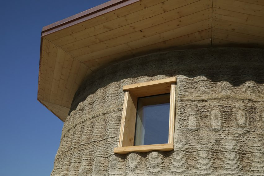Gaia is a 3D-printed house by WASP made from biodegradable materials