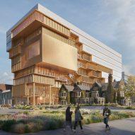 "Diller Scofidio + Renfro unveils ""eroded"" building for University of Toronto"