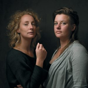 Portrait of Atelier NL co-founders Nadine Sterk and Lonny van Ryswyck