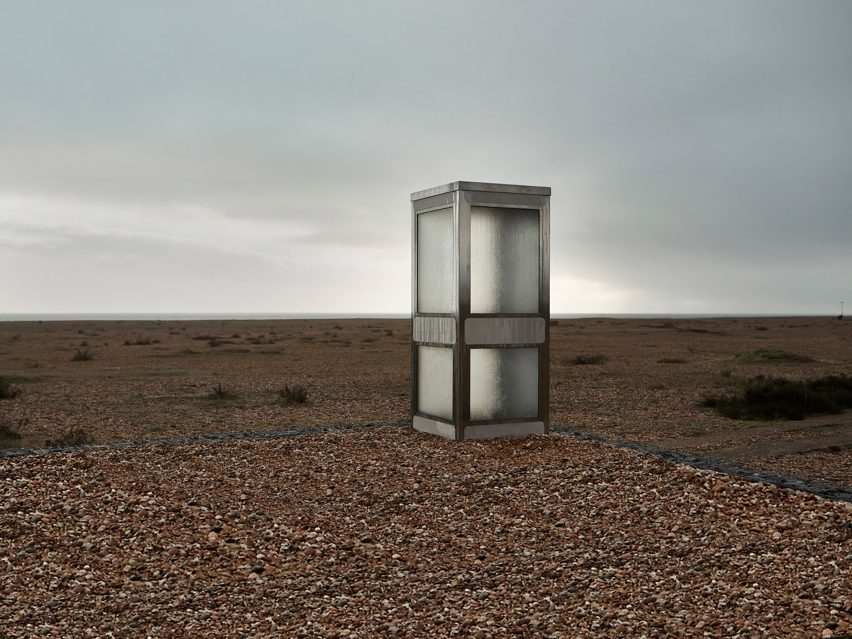 Brexit phonebox Dungeness Joe Sweeney