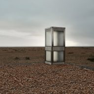 "Brexit phonebox on Dungeness beach invites the public to ""leave a message for Europe"""