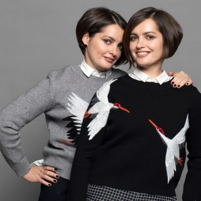Irina and Olga Sundukovy, founders of design and architecture studio Sundukovy Sisters and Dezeen Awards 2019 judges