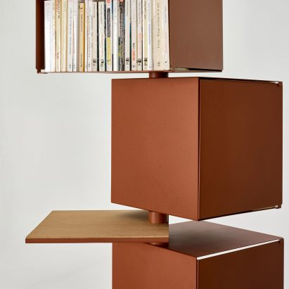 Toupie storage units by Alliages Design