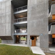 Gus Wüstemann affordable concrete housing in Zurich