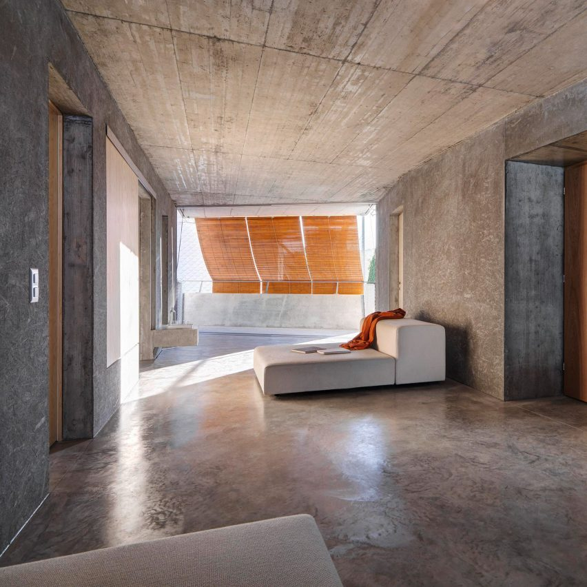 Gus Wüstemann creates affordable apartment block almost entirely from concrete