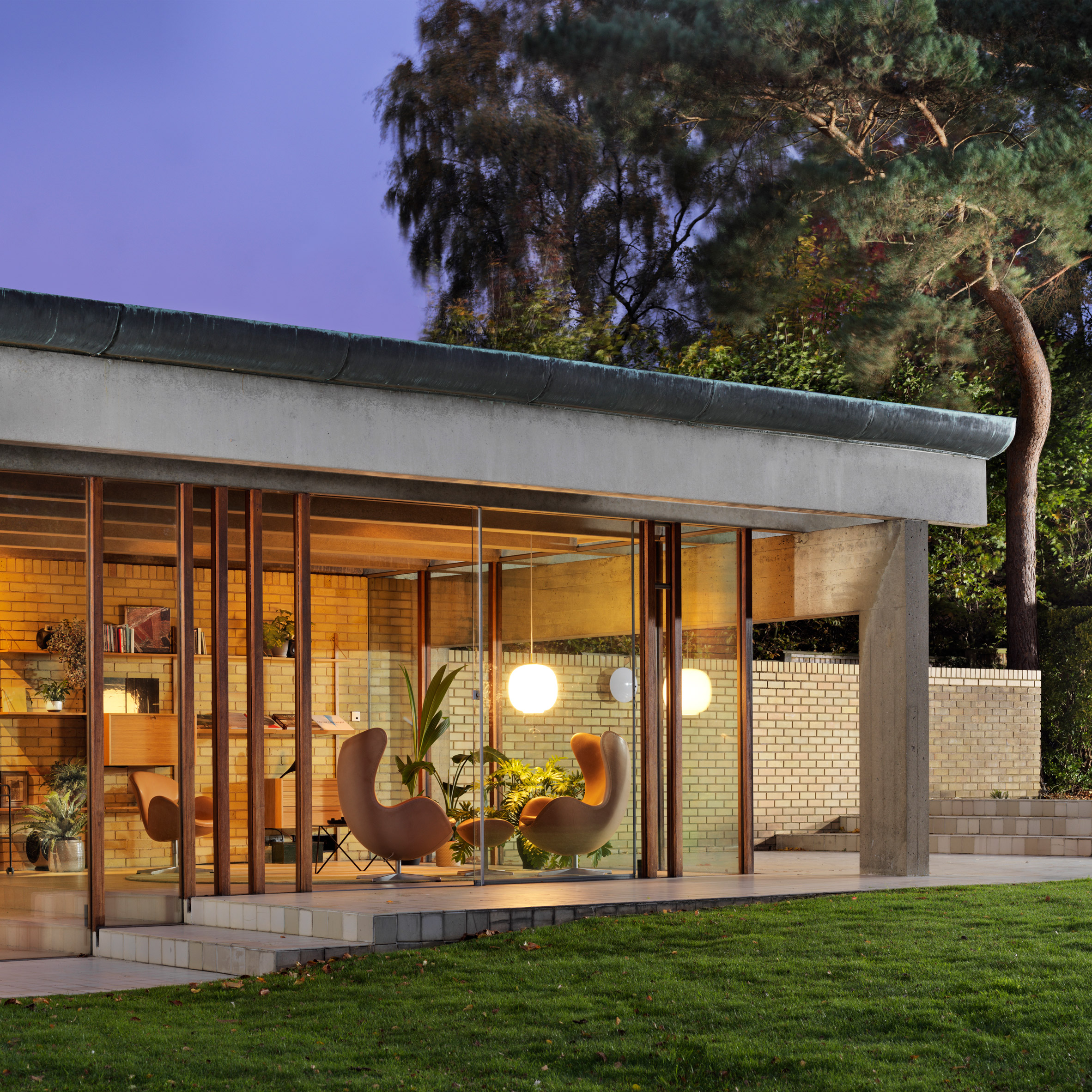 Ahm House by Jørn Utzon renovated by Coppin Dockray