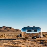 Vintage Airstream becomes mobile office for Silicon Valley entrepreneur