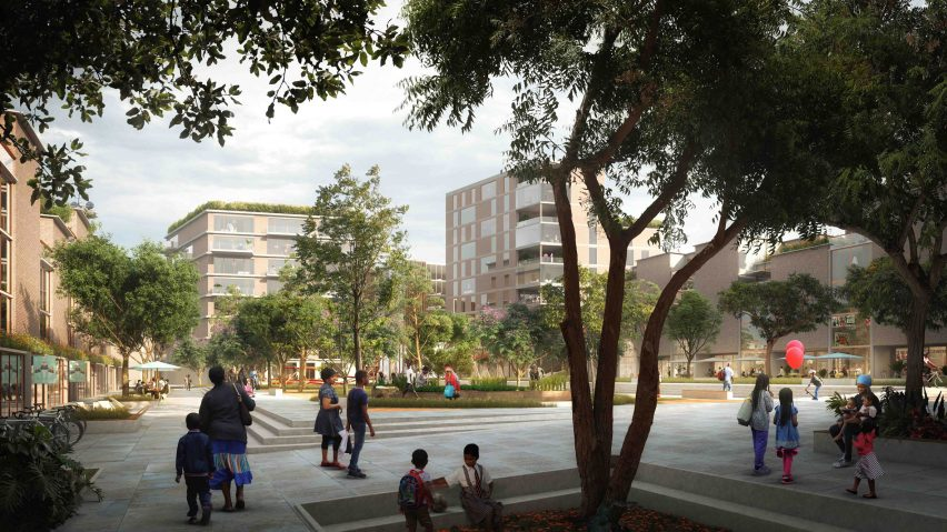 Alárò City masterplan by SOM in Nigeria