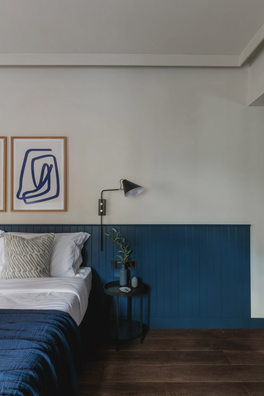 Interiors of Albergo Miramonti hotel, designed by Boxx Creative