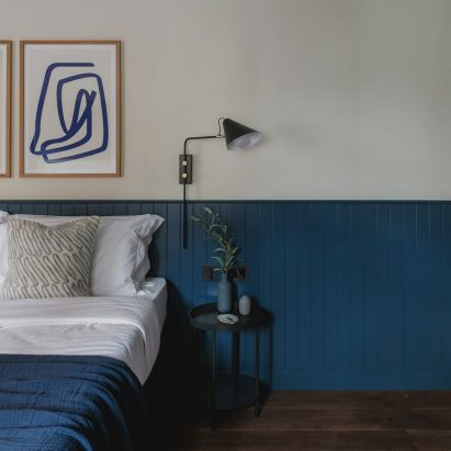 Interiors of Albergo Miramonti hotel, designed by Boxx Creative