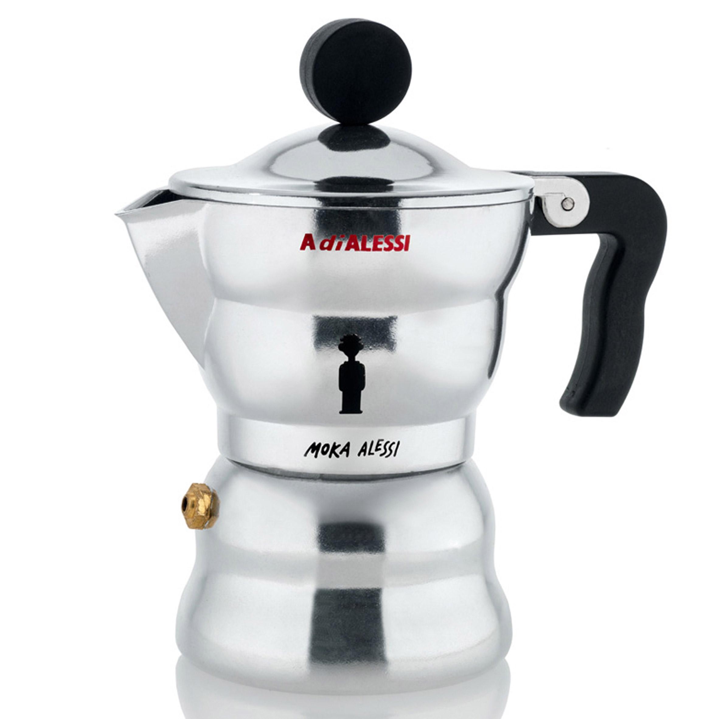 Moka Alessi coffee maker, 2011, by Alessandro Mendini