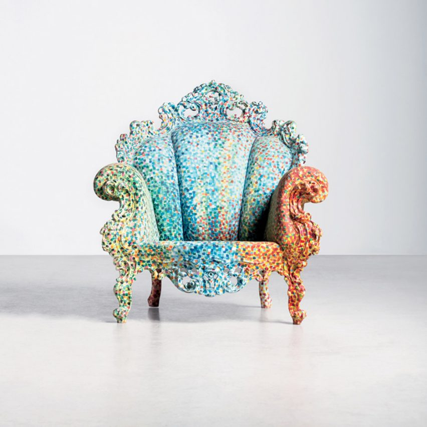 Alessandro Mendini dies: Proust armchair by Alessandro Mendini