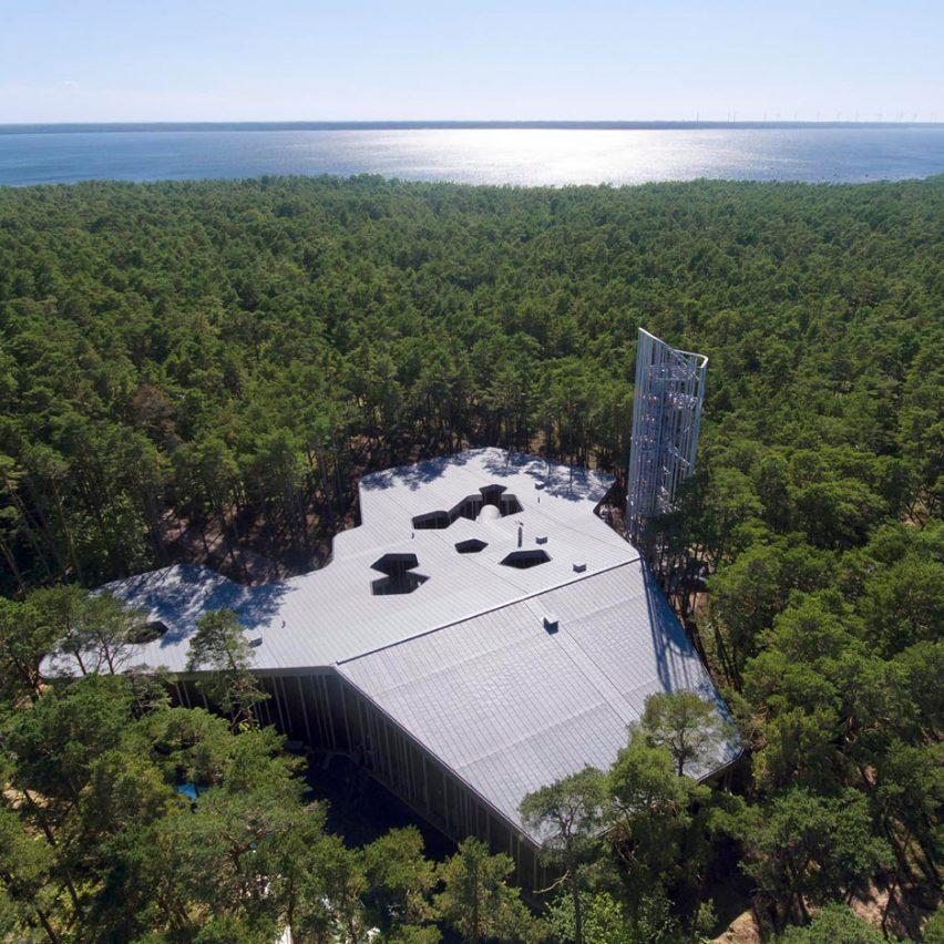 Arvo Pärt Centre by Nieto Sobejano Arquitectos is surrounded by Estonian forest