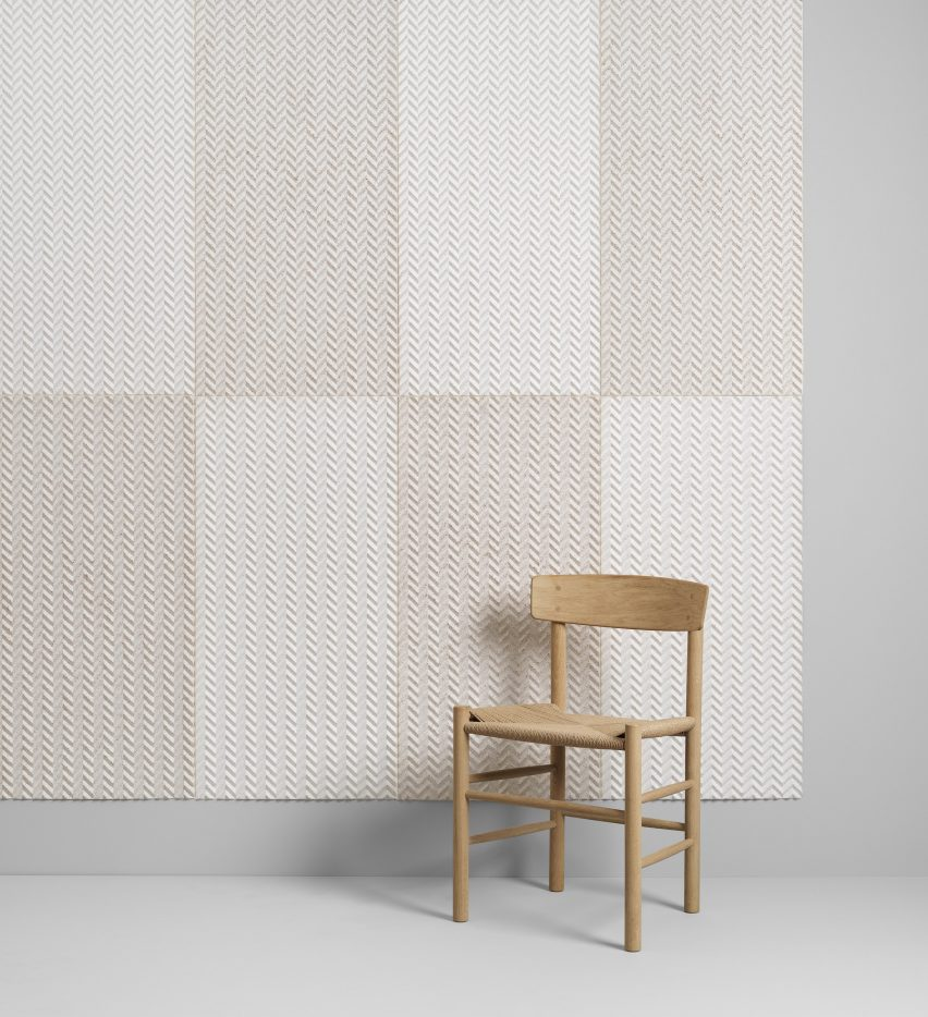 Baux Acoustic Pulp biodegradable wall panels