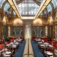 Interiors of Beefbar restaurant in Paris, designed by Humbert & Poyet