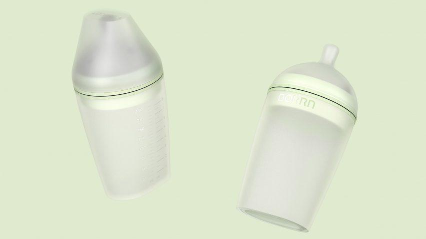 Blond designs Borrn baby bottle