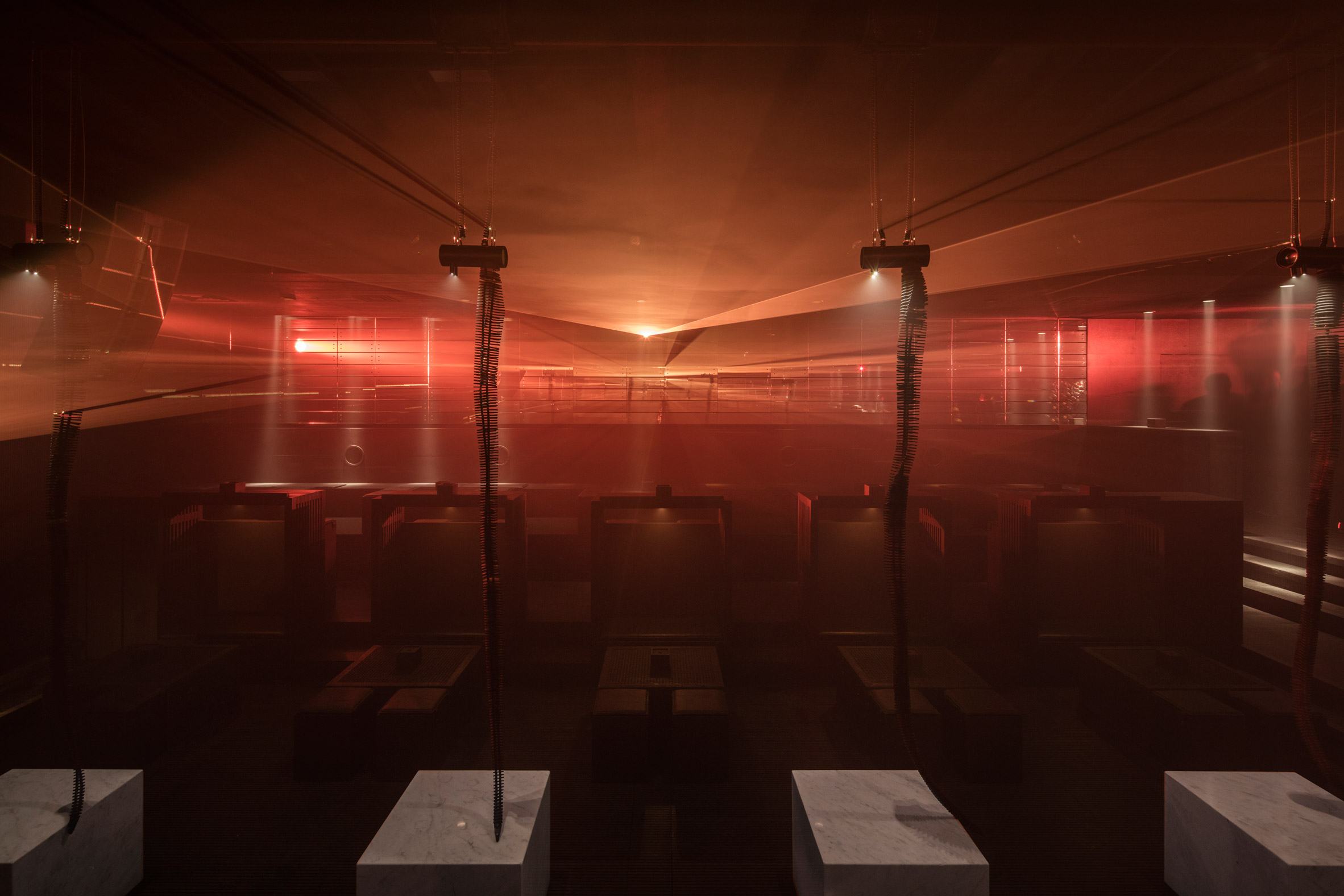 B018 bunker nightclub refurbishment by Bernard Khoury