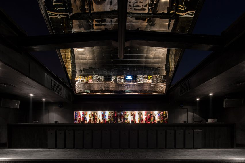 B018 bunker nightclub by Bernard Khoury has been refurbished