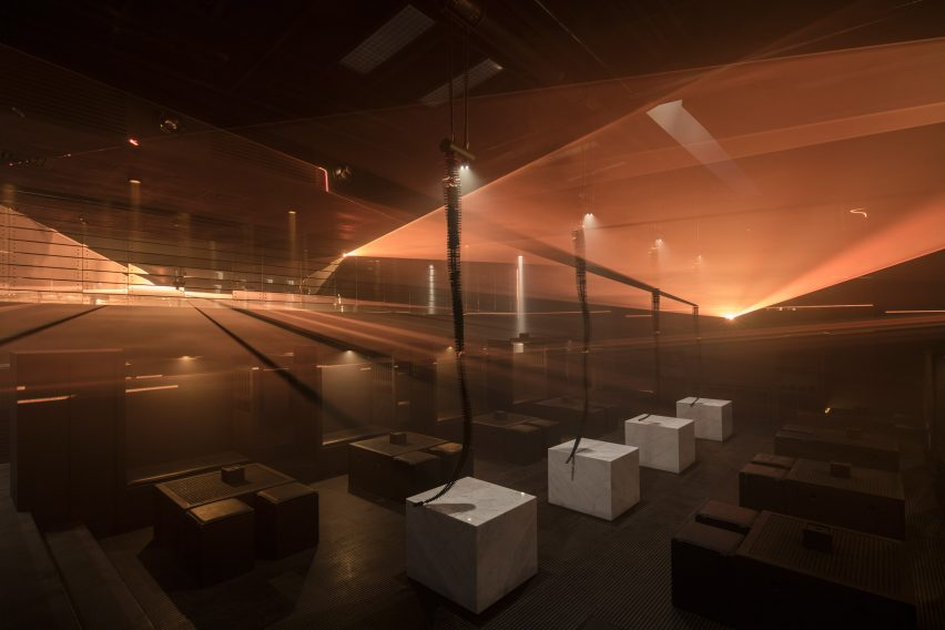 B018 bunker nightclub refurbishment by Bernard Khoury