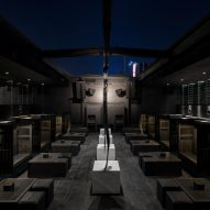 Bernard Khoury gives Beirut's B018 nightclub an even darker upgrade
