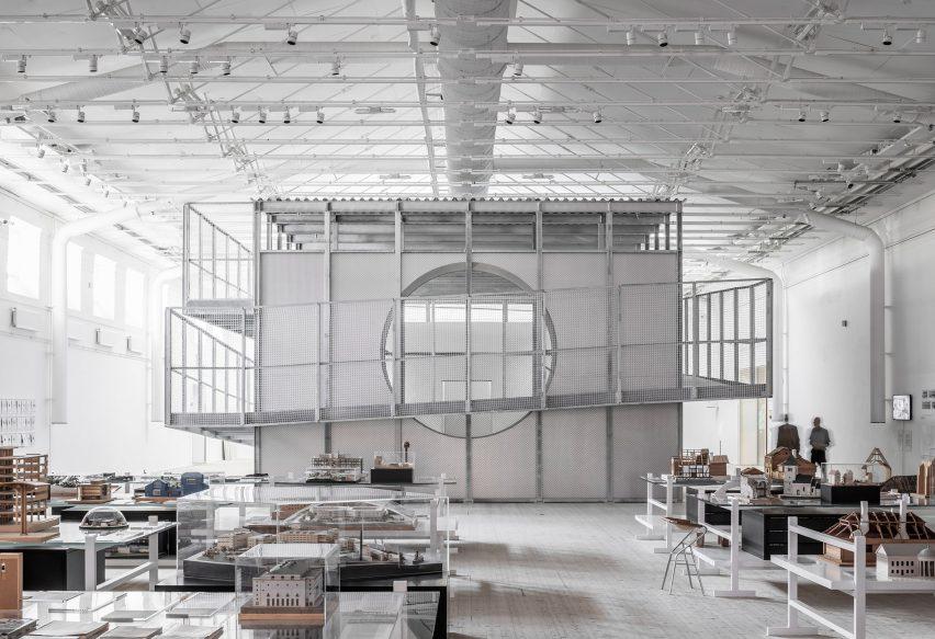 Boxen by Dehlin Brattgård Arkitekter at ArkDes in Stockholm