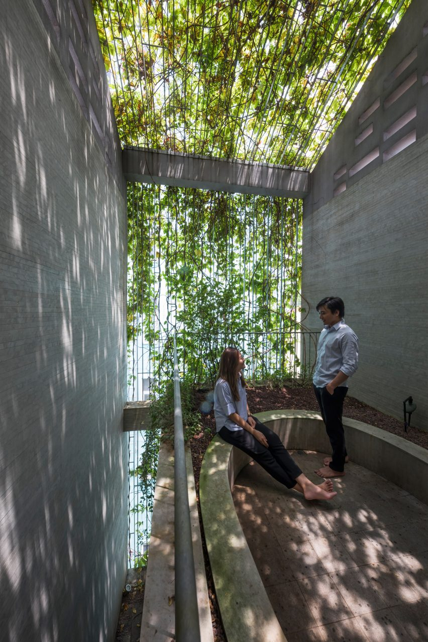Breathing House by VTN Architects in Vietnam