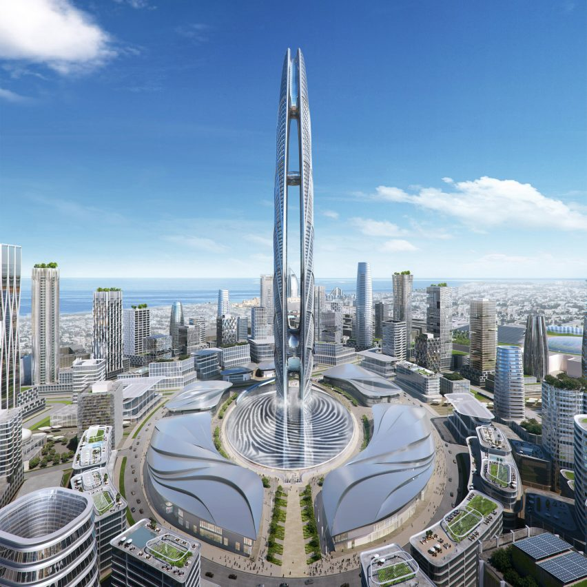 Burj Jumeira supertall skyscraper will rise from fingerprint of Dubai's ruler