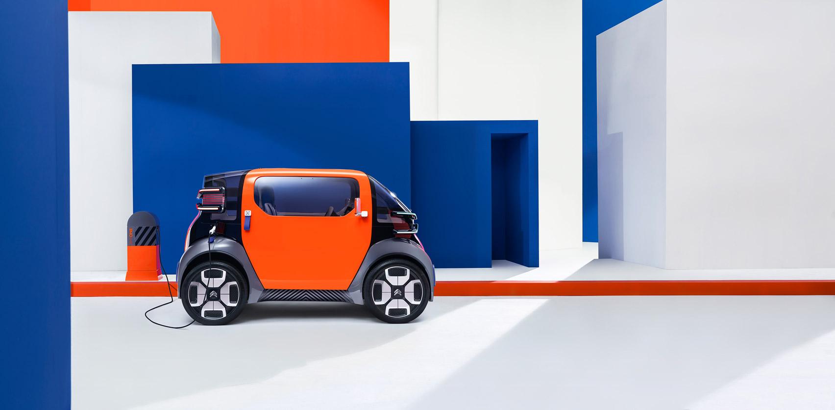 Ультракомпактный Citroën для тех, у кого нет прав