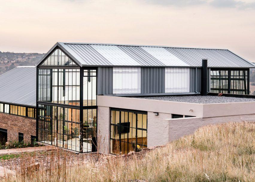 Conservatory House by Nadine Englebrecht