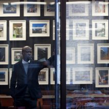 David Adjaye, who has curated the Making Memory Exhibition at the Design Museum, says architecture can counteract fiction in history