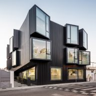 """Projecting windows """"distort the facades"""" of Portuguese care home"""