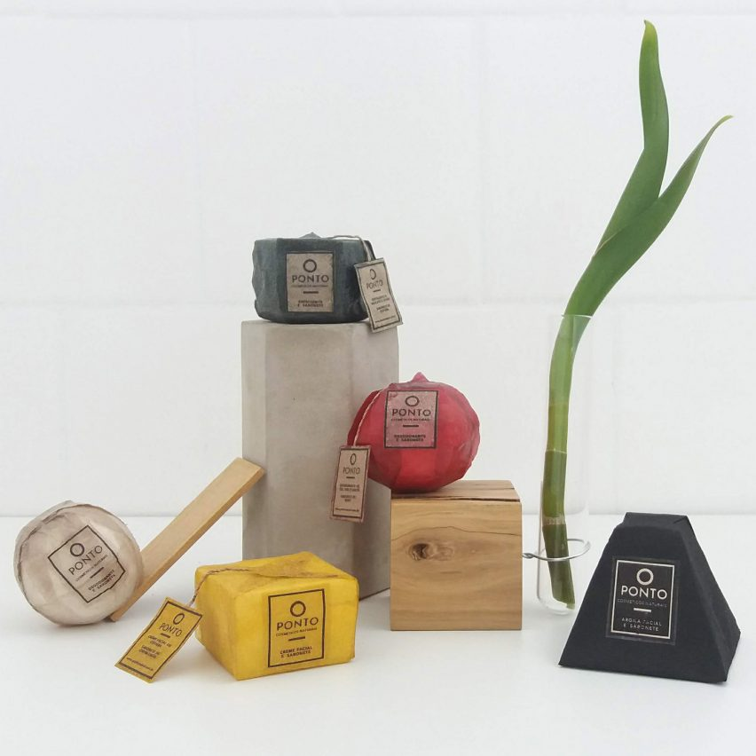 Elena Amato creates sustainable cosmetics packaging from bacteria