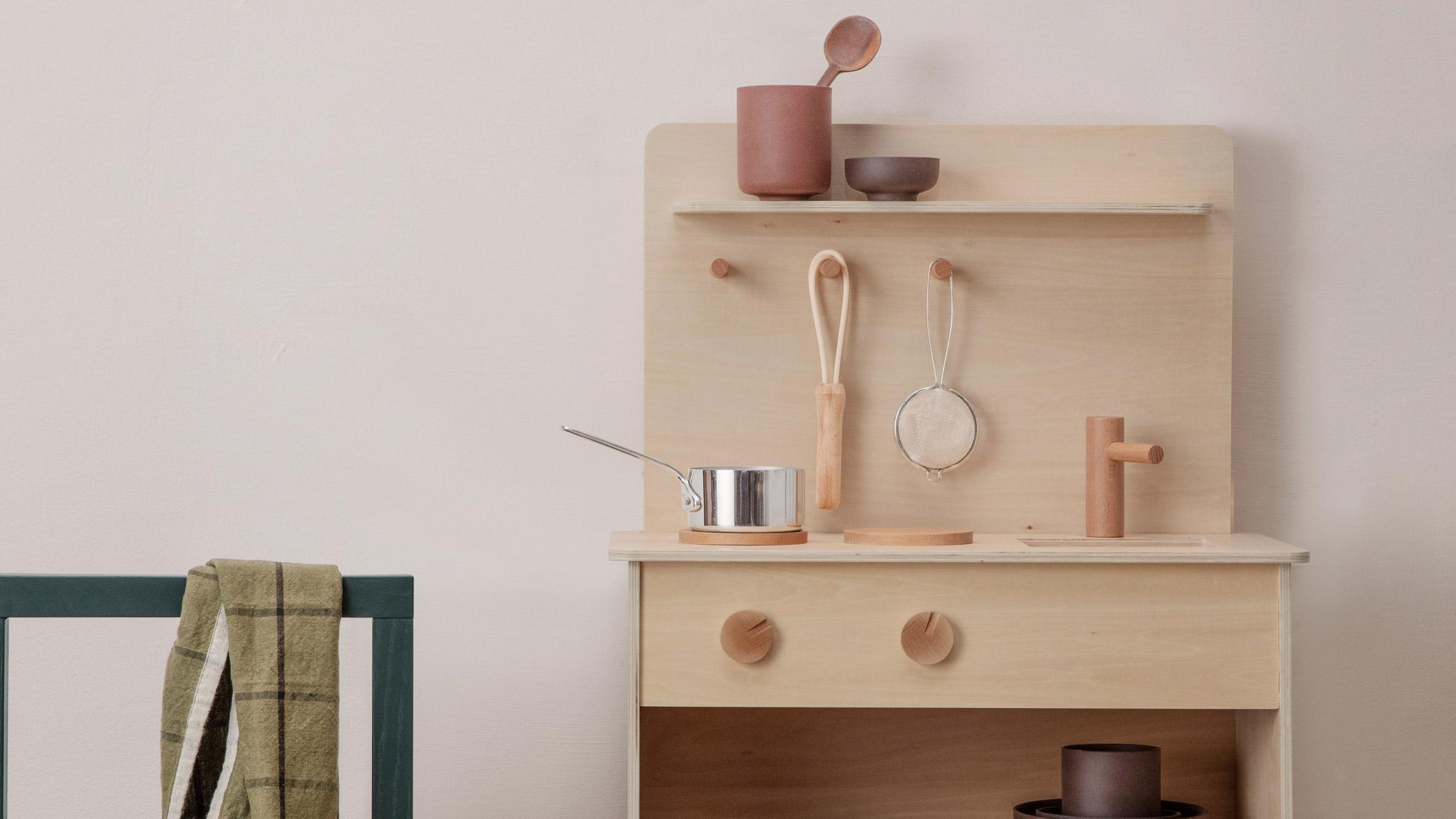Ferm Living Releases Gender Neutral Toro Play Kitchen For