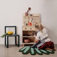 "Ferm Living releases ""gender-neutral"" Toro play kitchen for small spaces"