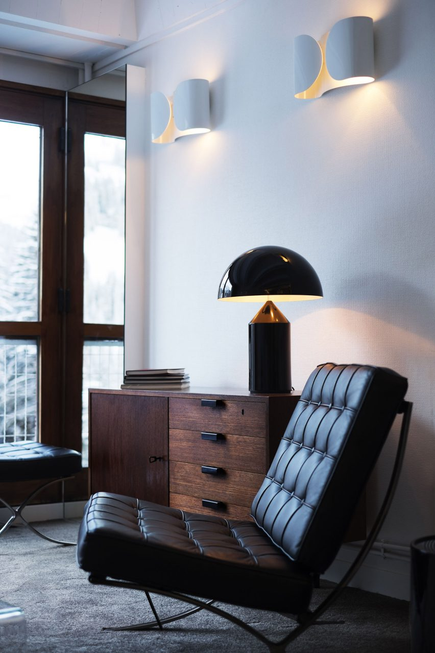 Interiors of Flaine apartment, revamped by Volta