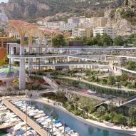 "Studio Fuksas reveals plans for ""vertical park"" on Monaco waterfront"