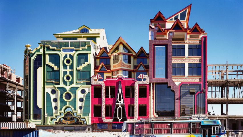 Freddy Mamani's New Andean Architecture in El Alto, Bolivia