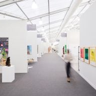 """wHY Architecture creates """"immersive"""" tent for first Frieze Los Angeles"""