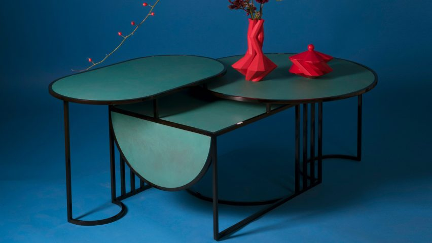 "Lara Bohinc's Orbit tables express the ""simplicity of Bauhaus design"""