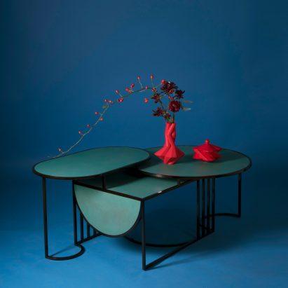 """Lara Bohinc's Orbit tables express the """"simplicity of Bauhaus design"""""""